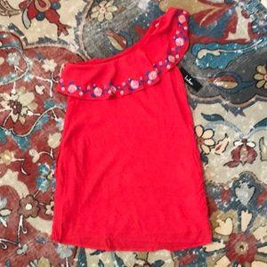 Lulu's One Shoulder Dress